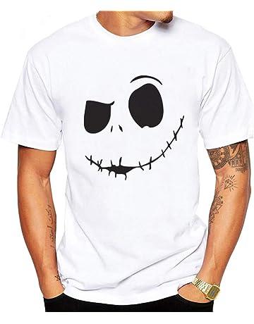 MEIbax Camisetas de Manga Cortas para Hombre con Cuello Redondo Originales Estampada Casual Divertidas Camisa Interior