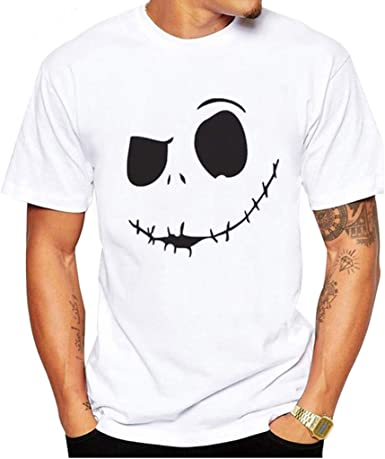 MEIbax Camisetas de Manga Cortas para Hombre con Cuello Redondo Originales Estampada Casual Divertidas Camisa Interior termicas Camisetas de Tirantes Manga Corta Blusa Tops T-Shirt Pullover Abrigos: Amazon.es: Ropa y accesorios