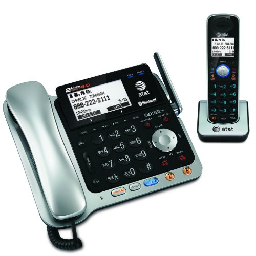 Tl86109 Two-Line Dect 6.0 Phone System With Bluetooth by AT&T