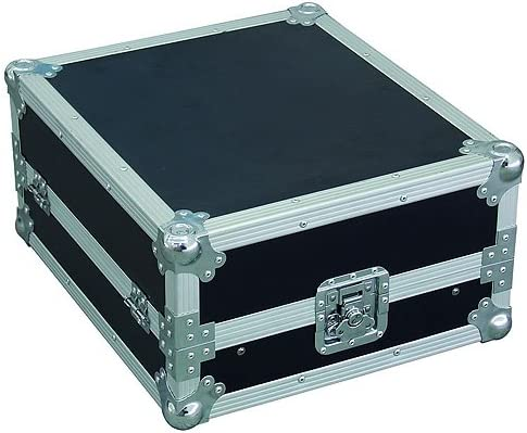 Roadinger Profi LS-19 30111563 - Caja para mesa de mezclas (con soporte para ordenador portátil), color negro: Amazon.es: Instrumentos musicales