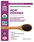 Super Good For You Foods Organic, Non GMO Freeze Dried Acai...