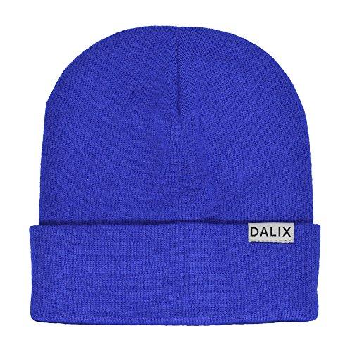 Royal Blue Knit Hat - 2