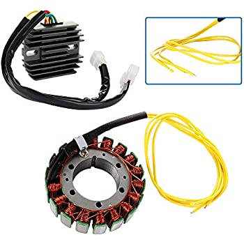 ECCPP Magneto Stator Regulator Rectifier Kit Fit for 1999-2000 Honda VT1100C Black Shadow Spirit 1999-2005 Honda VT1100C Shadow Spirit 1998 Honda VT1100C1 Shadow Spirit Stator Rectifier Set