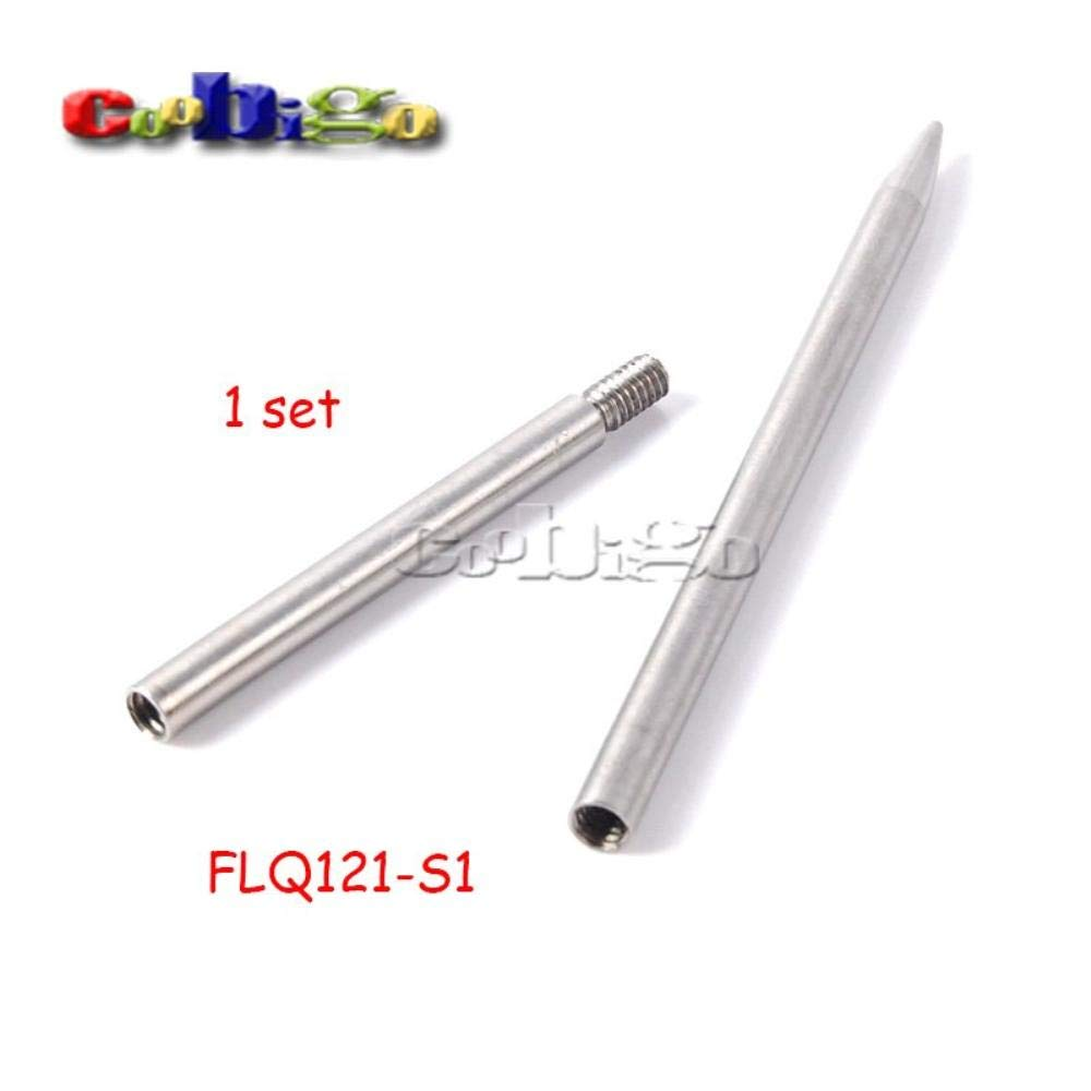 50set 3.5''Steel Paracord Needle with 1.8''Extended Needle Shaft Tip Stiching FID Knit Weaving Paracord Bracelet by BomBomStore (Image #2)