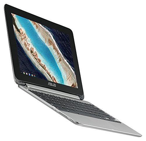 51Knh2bKNGL - ASUS Chromebook Flip C101PA-DB02 10.1inch Rockchip RK3399 Quad-Core Processor 2.0GHz, 4GB Memory,16GB, All Metal Body,Lightweight, USB Type-C, Google Play Store Ready to run Android apps, Touchscreen