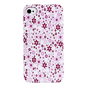 SHOUJIKE Shivering Print Pattern ABS Back Case for iPhone 4/4S