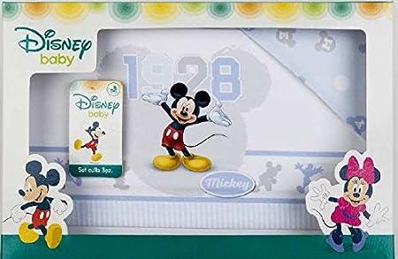 LENZUOLINI CULLA CARROZZINO DISNEY MICKE (BLU) Disney Topolino