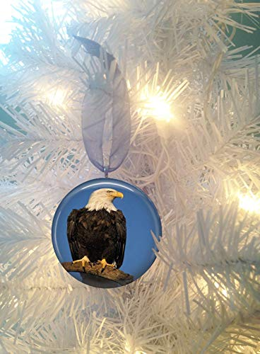 Eagle #4 Christmas Tree Ornament
