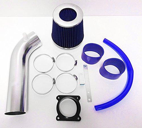 (2003-2006 Infiniti G35 3.5L V6 Air Intake Kit + Filter (Blue))