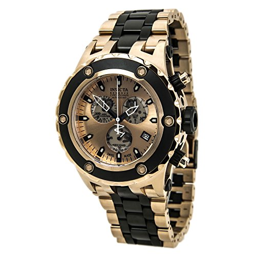 Invicta 80513 Men's Subaqua Chronograph Rose Gold Dial Two Tone Steel Dive Watch