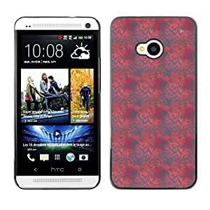 ZECASE Funda Carcasa Tapa Case Cover Para HTC One M7 No.0004655
