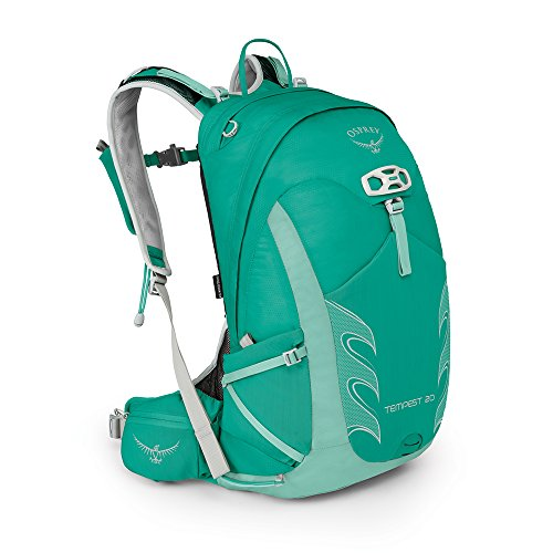 Osprey Packs Tempest 20 Womens Backpack, Lucent Green, Ws/M, Small/Medium