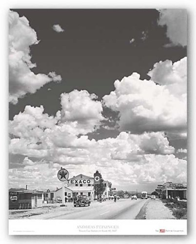 Route 66 - Texaco Gas Station by Andreas Feininger 22