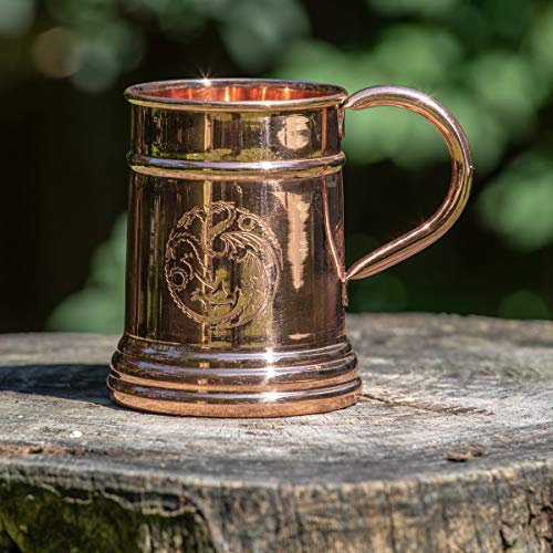Game of Thrones Collectible Copper Stein (Targaryen) by Calhoun (Image #1)