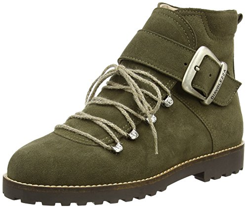 Diavolezza Women Boots Green (Grun 2060)