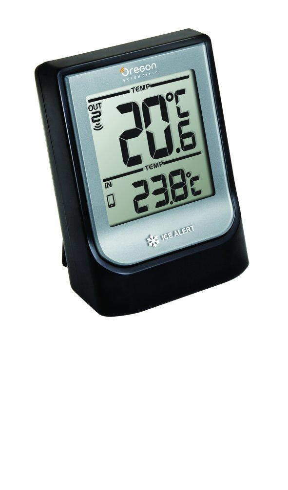 Oregon Scientific EMR211 Weather@Home Wireless Indoor/Outdoor Thermometer with Bluetooth connectivity LWB2657010311001