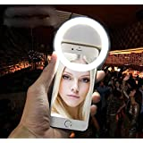Selfie Ring Light: Luz De Selfie Para O Celular - Cor Rosa (Sefie Light)