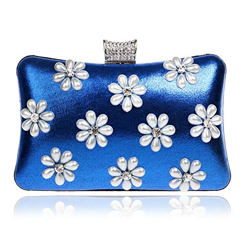New Snowflake Bag Evening Banquet Fashion Clutch Bag Dinner Bag Ladies Blue Luxury GROSSARTIG Exquisite Ladies YxSRgdwgq