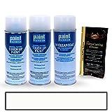 PAINTSCRATCH White Platinum Tricoat UG for 2011 Ford Explorer - Touch Up Paint Spray Can Kit - Original Factory OEM Automotive Paint - Color Match Guaranteed
