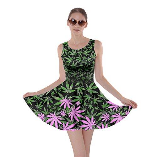 CowCow - Vestido - para mujer Colorful 2