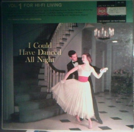 [LP Record] I Could Have Danced All Night - Vol 1 For Hi-Fi Living