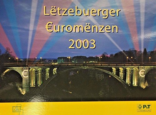 LU 2003 2003 Luxembourg 8 Coins Official Euro Set Special Good