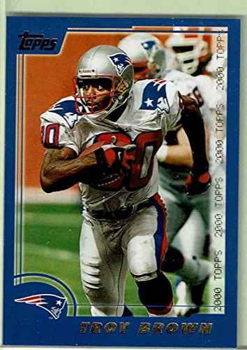 2000 Topps Card Of Troy Brown. #261. 6542.