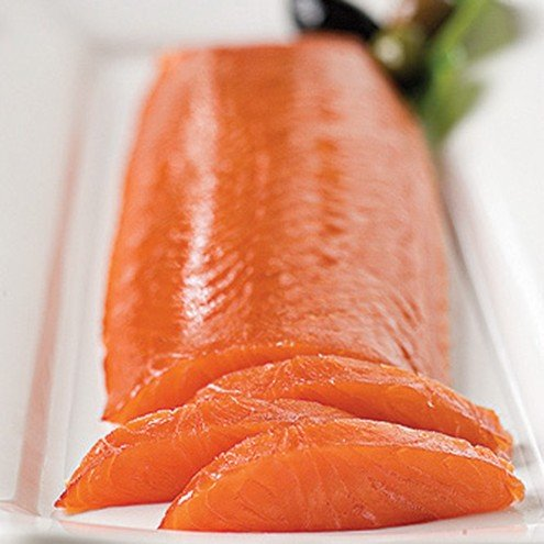 Scottish Smoked Salmon Heart Fillet Royal Cut - 1 ()