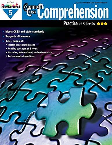 Newmark Learning Grade 5 Common Core Comprehension Aid (CC Comp)