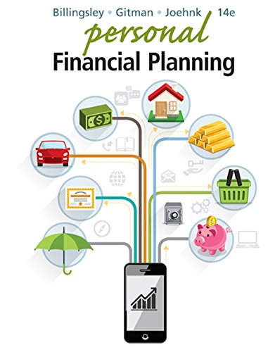 Personal Financial Planning (MindTap Course List)