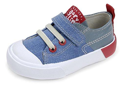 Garvalín 172804, Zapatillas para Niños Azul (Vaquero /     Azul /     Lona)