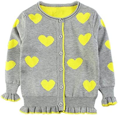 Le Chic Girls Square Knit Cardigan Sizes 4-14