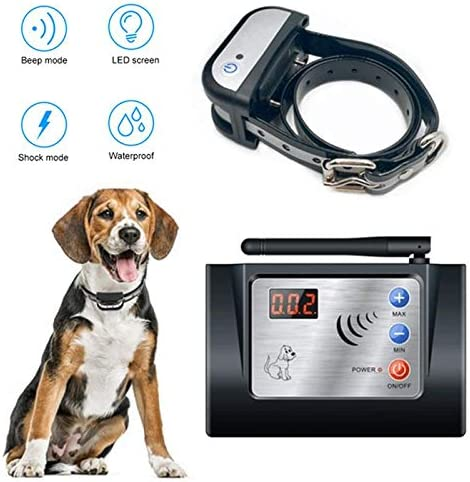 collier pour chien electrique sans fil