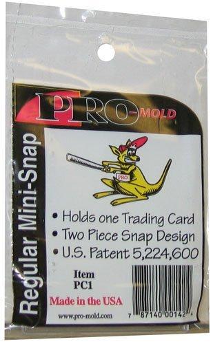- Card Storage Case - (20pt) ProMold Mini Snap Box #PC1