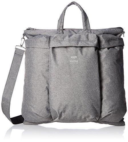 [Anero] Shoulder Bag Mil Design Helmet Bag Ah-B1961 Gy Gray Jp F/S