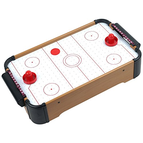 Power Air Hockey Table - Point Games Blazing Air Hockey - Fast Paced Action Game - Lots of Fun for Kids- Durable with Strong High Powered Fan for Blazing Speed