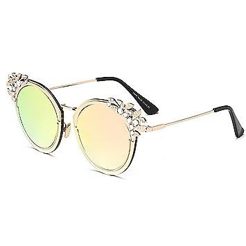 Aihifly Nuevas Gafas de Sol Gafas de Sol de Cristal de Lujo ...