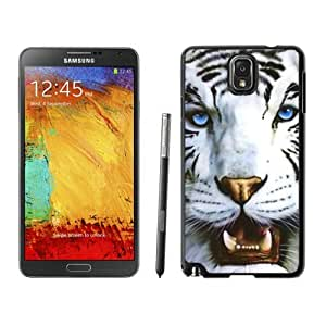 BINGO retail White Tiger and Blue Eyes Samsung Galaxy Note 3 Case Black Cover by icecream design