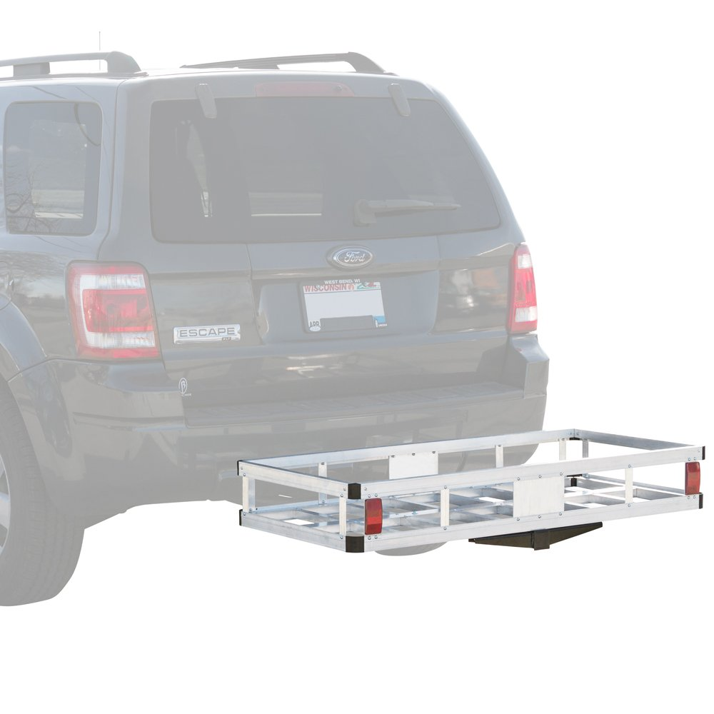 Rage Powersports HCCA-2249 Aluminum Hitch Cargo Carrier (48' with 5/8' Hitch Pin) by Rage Powersports