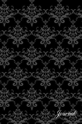 Download Journal: Black damask notebook ebook