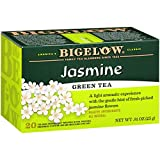 Bigelow Green Tea with Jasmine Tea Bags, 20 Count Box (Pack of 6) Caffeinated Green Tea, 120 Tea Bags Total