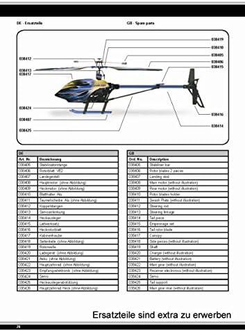 tail motor Ersatzteil Hubschrauber AMEWI SC150 6 Kanal