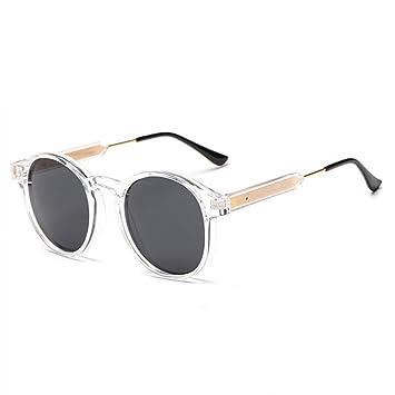 Chudanba Gafas de Sol Redondas para Hombres Diseño Unisex ...