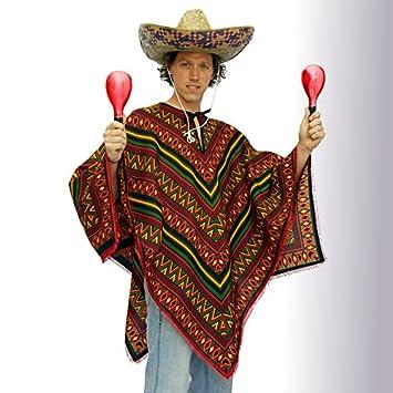 poncho mexiko billig