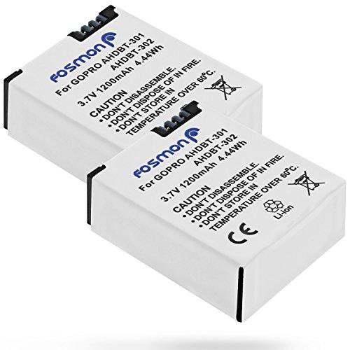 fosmon-gopro-hero3-2x-pack-1200-mah-batteries-ahdbt-301-for-gopro-hd-hero-3-go-pro-hd-hero3-black-ed