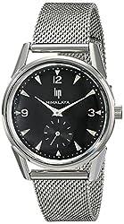 Lip Unisex 18730172 Himalaya Analog Display Swiss Quartz Silver Watch