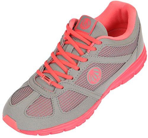 gray Mesh Weight 1203 Sneakers Walking Paperplanes Unisex Pink 1201 Light Super qfxg4zwX