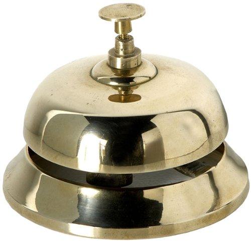 4 opinioni per Campanello da reception in ottone massiccio. Codice 1046