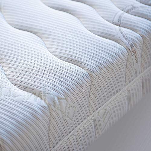 Núcleo de muelles con 7 Zonas Colchón Ortho Matra ABC Spring, con Funda de bambú Lavable