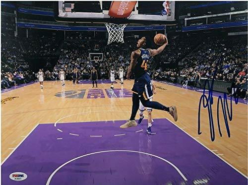 Donovan Mitchell Autographed Signed Photo 11x14 Utah Jazz PSA Coa